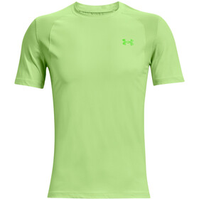 Under Armour Isochill Run 200 Short Sleeve Shirt Men, summer lime-hyper-green